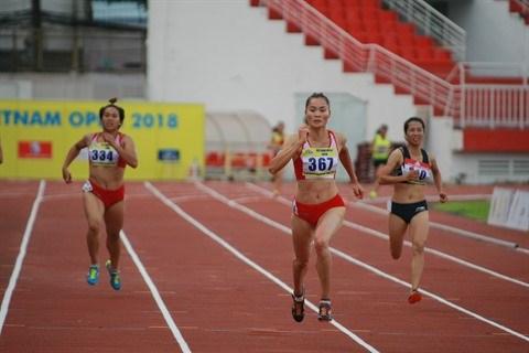 Le Vietnam en verve au Tournoi international d'athletisme elargi hinh anh 1