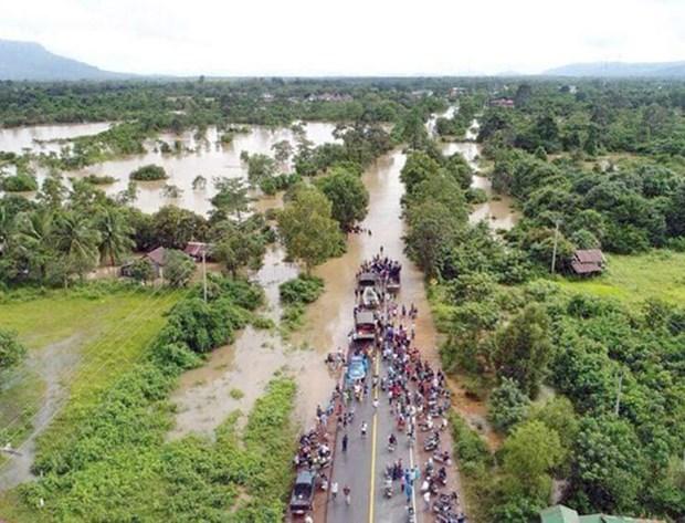 Inondations : Le Vietnam exprime sa sympathie au Cambodge hinh anh 1