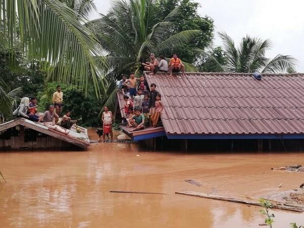 Barrage effondre : le Laos met en garde contre les fausses nouvelles et photos hinh anh 1