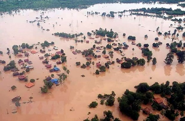 Laos : l'effondrement de barrage est du a la mauvaise qualite de construction hinh anh 1