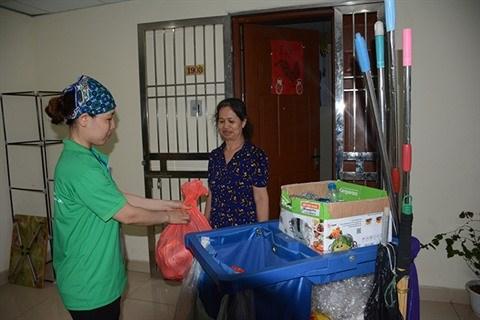 Tri, du nouveau dans les poubelles a Hanoi hinh anh 1