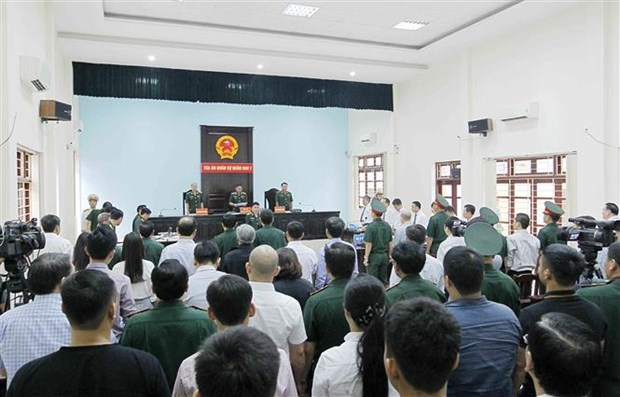 Le proces de Dinh Ngoc He et ses complices s'ouvre a Hanoi hinh anh 2