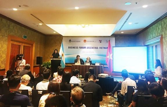 Le Vietnam et l'Argentine promeuvent leur cooperation economique hinh anh 1