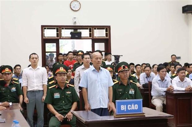Le proces de Dinh Ngoc He et ses complices : l'heure du verdict hinh anh 1