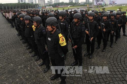 Exercice antiterroriste en Indonesie avant les Jeux asiatiques 2018 hinh anh 1