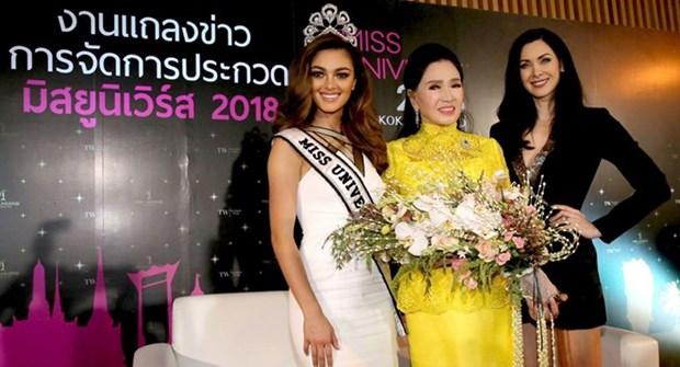 Le concours Miss Univers 2018 aura lieu en Thailande hinh anh 1