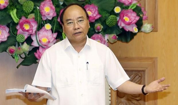Le PM demande de continuer le renouvellement du modele de croissance hinh anh 1
