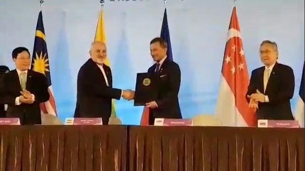 L'Iran adhere au Traite d'amitie et de cooperation de l'ASEAN hinh anh 1
