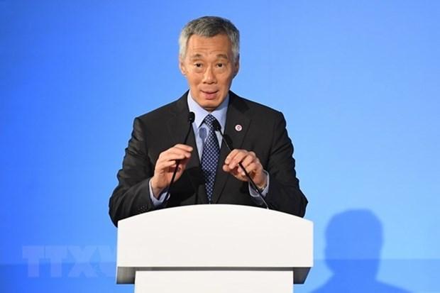 Singapour appelle a renforcer l'architecture regionale centree sur l'ASEAN hinh anh 1