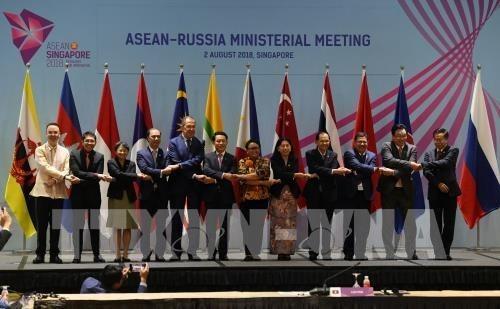 Les pays partenaires soutiennent la centralite de l'ASEAN hinh anh 1