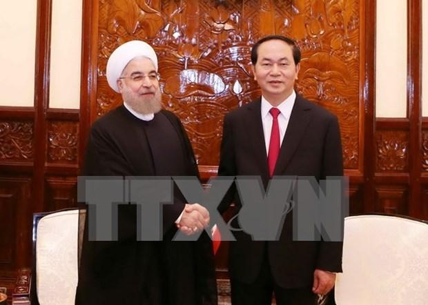 Le Vietnam felicite l'Iran pour les 45 ans des liens diplomatiques hinh anh 1