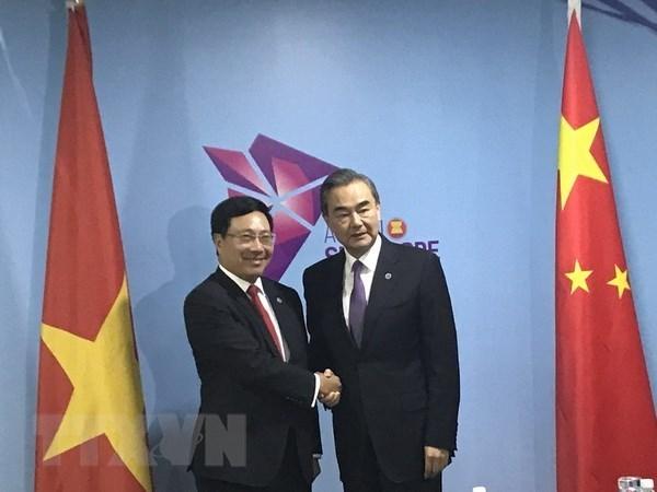 Le Vietnam et la Chine affichent leur volonte de renforcer leurs liens hinh anh 1