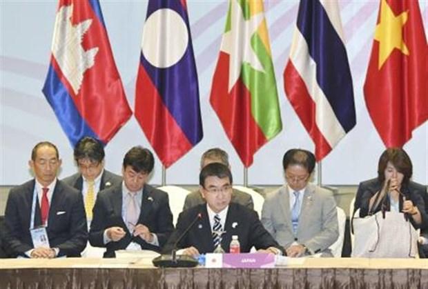 Le Japon renforcera la connectivite des infrastructures sous-regionales du Mekong hinh anh 1