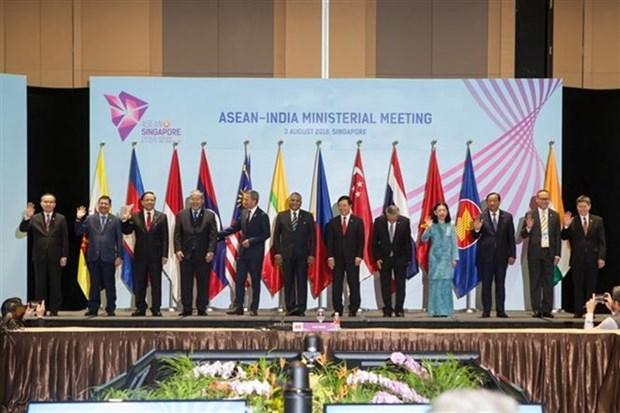 Le Vietnam co-preside la reunion ministerielle ASEAN-Inde hinh anh 1