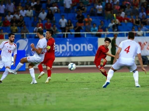 Le Vietnam bat la Palestine 2-1 au Championnat international U23 hinh anh 1
