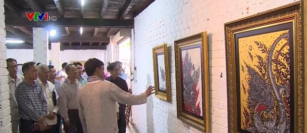 Une exposition d'art encourage la comprehension entre les nations du Mekong hinh anh 1
