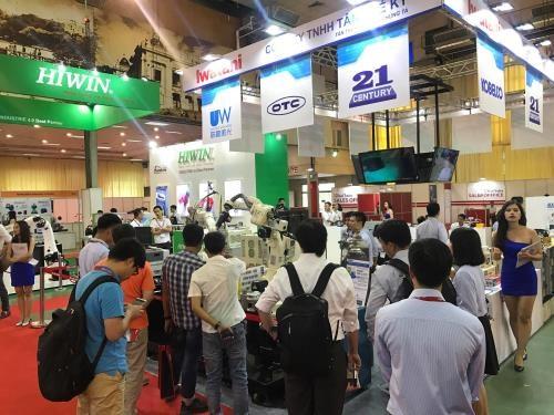 L'exposition des machines et technologies a Hanoi hinh anh 1