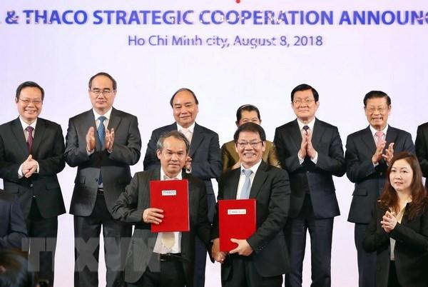 Le PM encourage les entreprises a cooperer pour moderniser l'agriculture hinh anh 1