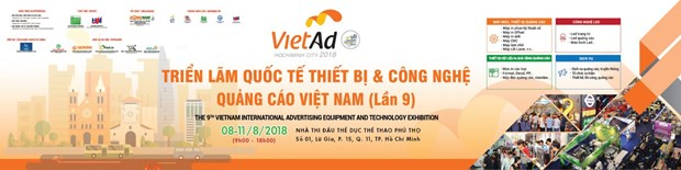Ouverture du salon de la publicite VietAd 2018 a Ho Chi Minh-Ville hinh anh 1