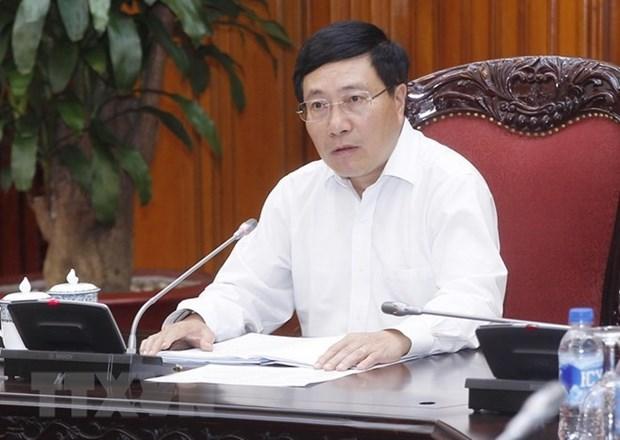 Les officiels font le point sur les preparatifs du WEF ASEAN hinh anh 1