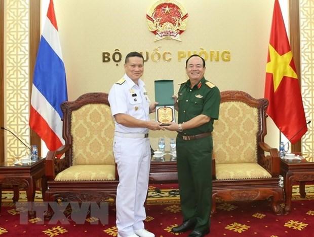 Les marines vietnamienne et thailandaise cooperent sur l'hydrographie hinh anh 1