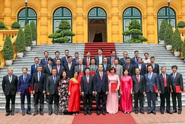 Le president demande de promouvoir la diplomatie economique hinh anh 1