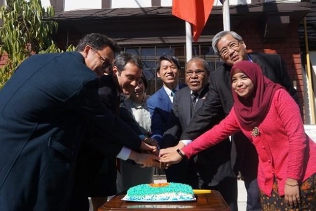 L'ambassade du Vietnam au Chili fete les 51 ans de l'ASEAN hinh anh 1
