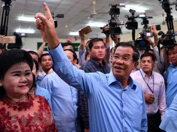 Elections legislatives au Cambodge : felicitations du Vietnam hinh anh 1