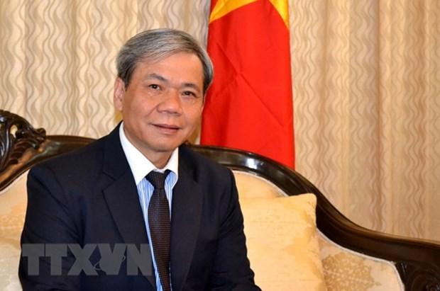 Developpement heureux des relations vietnamo-indiennes hinh anh 1