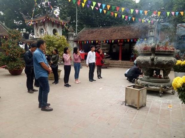 La-haut, le genie de la montagne Tan Vien trone dans son pantheon hinh anh 1