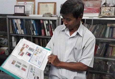 Hoang Sa et Truong Sa, regard de collectionneur de timbres hinh anh 2