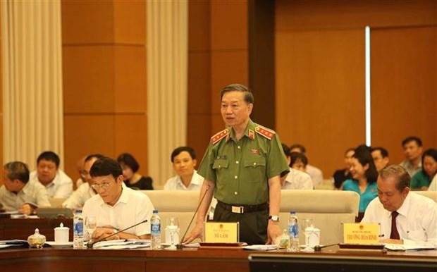 Le ministere de la Securite publique se jure de combattre la criminalite hinh anh 1
