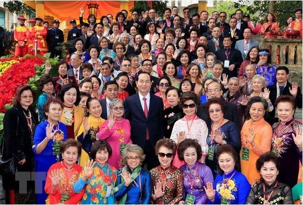 Les compatriotes vietnamiens a l'etranger contribuent au developpement national hinh anh 1