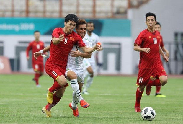 Football : le Vietnam bat le Pakistan aux ASIAD 18 hinh anh 1