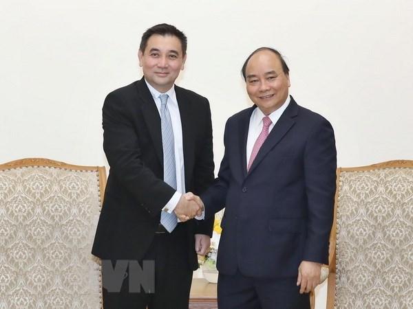 Le Premier ministre recoit des entreprises etrangeres hinh anh 2