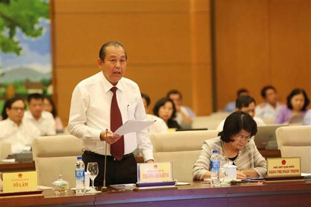 Le ministere de la Securite publique se jure de combattre la criminalite hinh anh 2