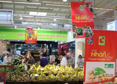 Le longane de Hung Yen vendu dans les supermarches de Big C hinh anh 1