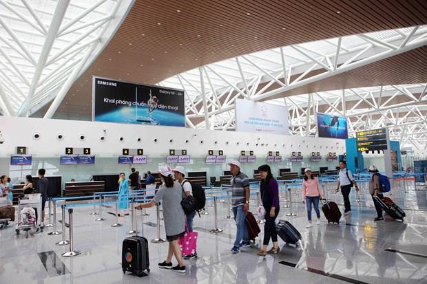 Qualite de service : L'aeroport de Da Nang reste en tete hinh anh 1