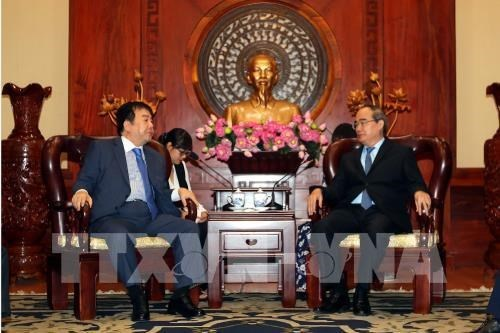 HCM-Ville attire les investissements sud-coreens dans la zone urbaine intelligente hinh anh 1