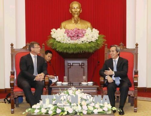 Le Vietnam souhaite cooperer avec l'Australie dans la reponse au changement climatique hinh anh 1