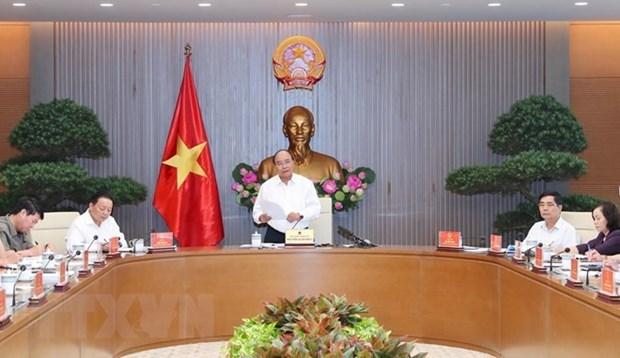 Le PM Nguyen Xuan Phuc preside la conference sur la strategie maritime hinh anh 1