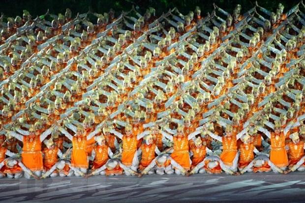 Ouverture des 18es Jeux asiatiques en Indonesie hinh anh 1