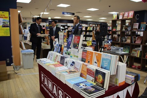 FAHASA ouvre un stand de livres vietnamiens a Tokyo hinh anh 1