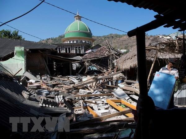 Indonesie: de multiples seismes frappent l'ile de Lombok hinh anh 1