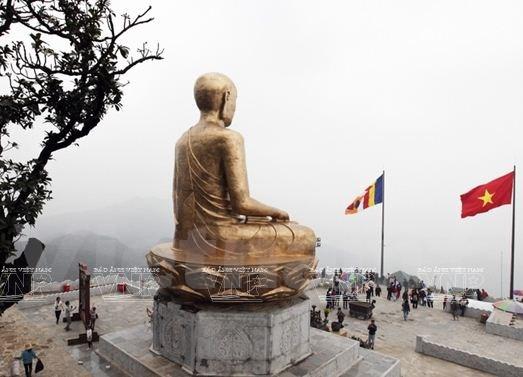La terre sacree de Yen Tu, haut lieu du bouddhisme vietnamien hinh anh 2