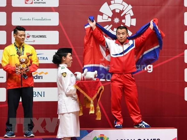 ASIAD 2018 : premiere medaille d'argent pour le Vietnam hinh anh 1