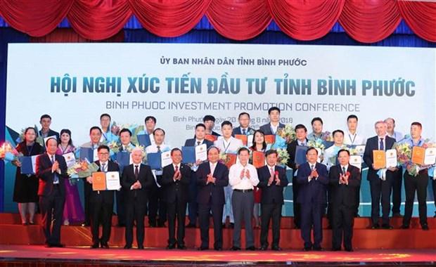 Le PM Nguyen Xuan Phuc exhorte Binh Phuoc a transformer ses potentialites en realites hinh anh 3