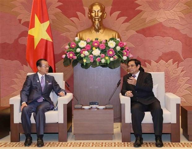 Le Vietnam et le Japon renforcent l'amitie parlementaire hinh anh 1