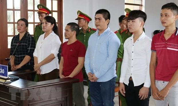 Ninh Thuan: Jugement de six personnes accusees de perturber l'ordre public hinh anh 1