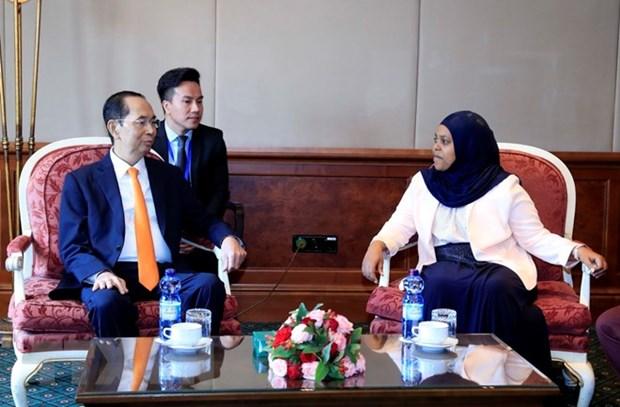 Le Vietnam souhaite renforcer ses liens avec l'Ethiopie hinh anh 1